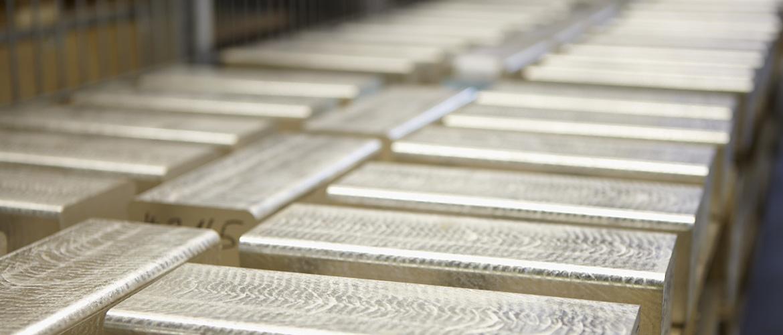 Weißgold barren  Agosi Edelmetall › Agosi Allgemeine Gold- und Silberscheideanstalt AG