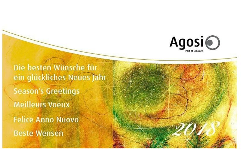 Neujahreswünsche von Agosi › Agosi Allgemeine Gold- und ...